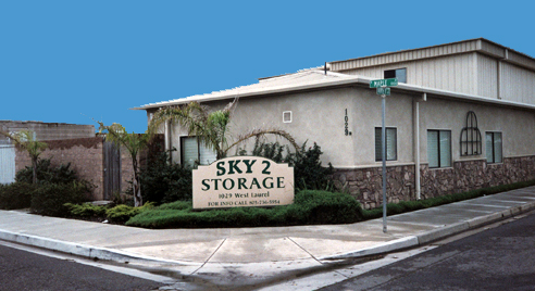 Incroyable Sky 2 Storage Lompoc California